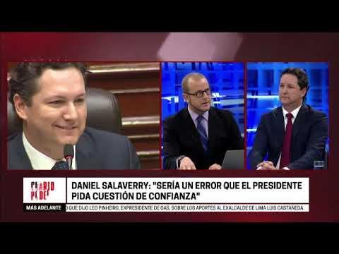Cuarto Poder: Entrevista al presidente del Congreso, Daniel Salaverry