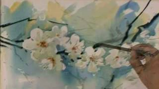 Spring Flowers in Watercolor by Sterkhov.flv