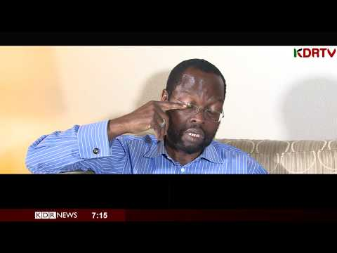 """Hon. Nyong'o cries in studio """"They KILLED my brother, 30 years ago for no reason"""""""