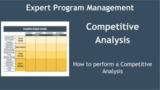 How to Conduct a Competitive Analysis