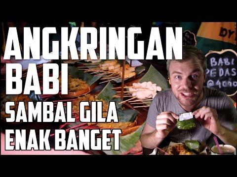 Angkringan Babi pertama di Jakarta - BuleKulineran   FVLOG #82