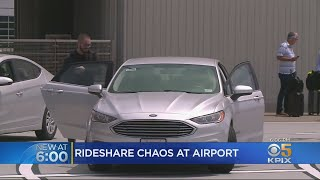 Pick-Up Problems Persist For SFO Passengers Using Uber and Lyft