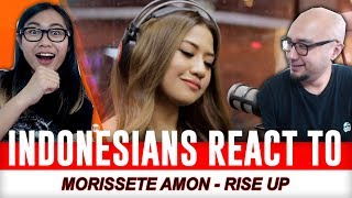 "Indonesians React To Morissette Amon performs ""Rise Up"" LIVE on Wish 107.5 Bus"