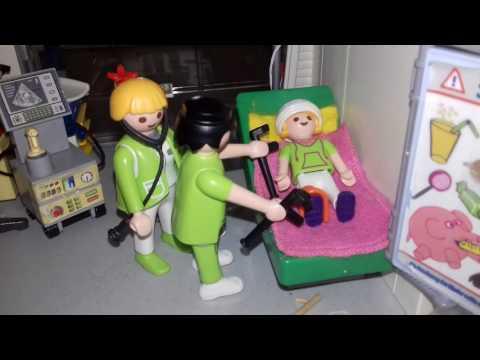 L'accident de Louise (playmobil)