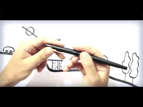 Les trois stylos de l'architecte