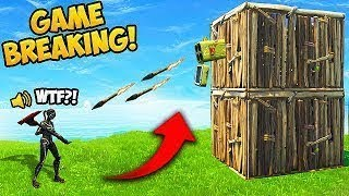 *NEW* GAME BREAKING EXPLOIT! - Fortnite Funny Fails and WTF Moments!