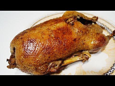 Как правильно приготовить гуся . Гусь запеченный в духовке. Нежнейший гусь.