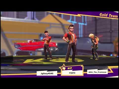Knockout City™ - Match 2 - Gameplay |