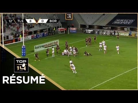 TOP 14 - Résumé Stade Toulousain-Union Bordeaux-Bègles: 24-21 - Demi-finales - Saison 2020/2021