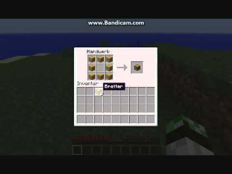 minecraft wie craftet man eine chest truhe youtube. Black Bedroom Furniture Sets. Home Design Ideas