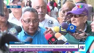 Transportistas de Caracas rechazaron escasez de gasolina y falta de repuestos en el pais