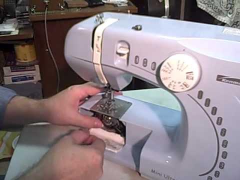 40 Changing The Bobbin YouTube Mesmerizing Kenmore Ultra Mini Sewing Machine