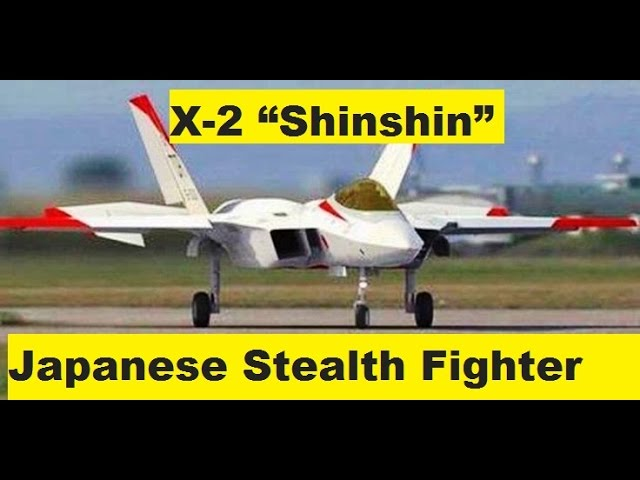 "X-2 ""Shinshin"" Japanese Fifth Generation Fighter"