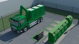 Новейшая система раздельного сбора мусора