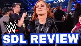 WWE Smackdown Live REVIEW February 5th 2019 - Becky Lynch SLAPS Triple H