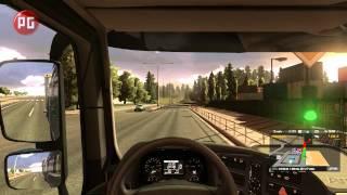 Euro Truck Simulator 2. Видеообзор