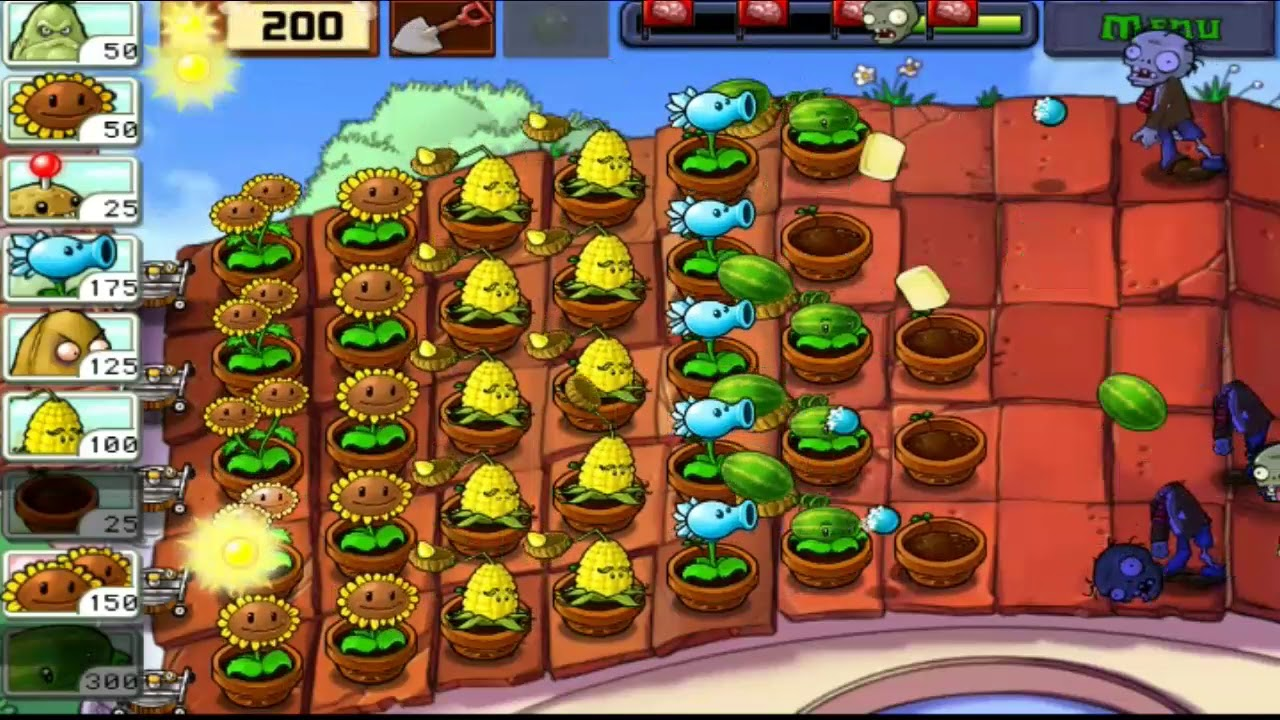 Plants Vs. Zombies | Adventure | Android Gameplay #98 - YouTube