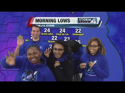 Destiny High School students visit TMJ4