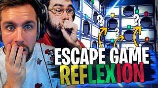 Une Escape Game Reflexion de fou avec Lebouseuh sur Fortnite Créatif