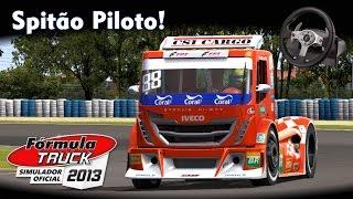 Spitão Piloto de Caminhão! | Fórmula Truck 2013 + Logitech G25 [PT-BR]