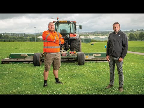 Trailed MAJOR Swifts for Cropper Grounds Maintenance