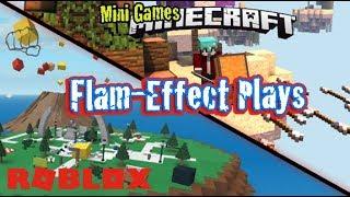 Split stream Roblox fun | Minecraft mini games | Watch me fail!