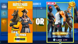 Fortnite Season 5 BATTLE PASS! WHAT WE KNOW TRAILER!?!, BATTLE PASS UNLOCKABLES