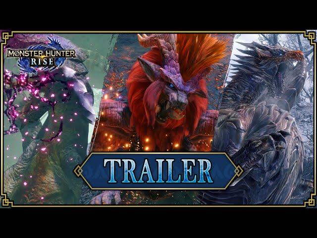 MAJ 2.0 Monster Hunter Rise - Trailer #7 [Direct Feed]