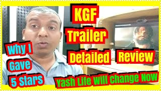 KGF Trailer Detailed Review l Why I Gave 5 Stars?