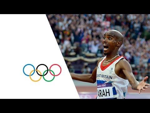 Mo Farah Wins Men's 5000m Gold - London 2012 Olympics