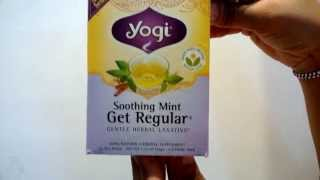 Myotcstore.com Review on Yogi Get Regular Soothing Mint Herbal Supplement Tea Bags - 16 Ea