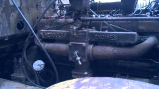 Hercules HXD Six Cylinder Engine start up