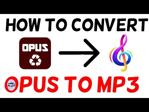 How to convert OPUS to MP3 File Format // Namma Ooru Google.