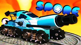 Amazing Battle Tank and Buying Cities! - Spore Gameplay