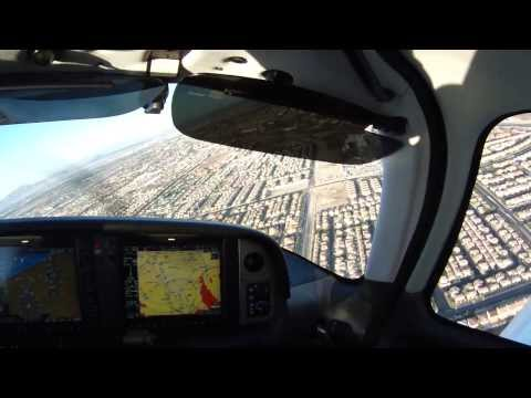 Landing KHND Henderson Executive Airport SR20GTS