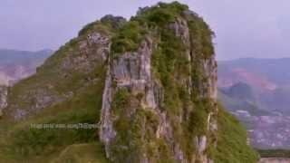 Stone Garden Citatah Padalarang Kab. Bandung Barat aerial video by acang