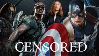 CAPTAIN AMERICA | Unnecessary Censorship | Censored Avengers Parody Bleep Video