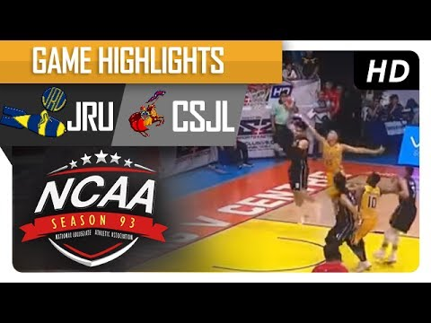 Heavy Bombers vs. Letran Knights | NCAA 93 | MB Game Highlights | July 21, 2017