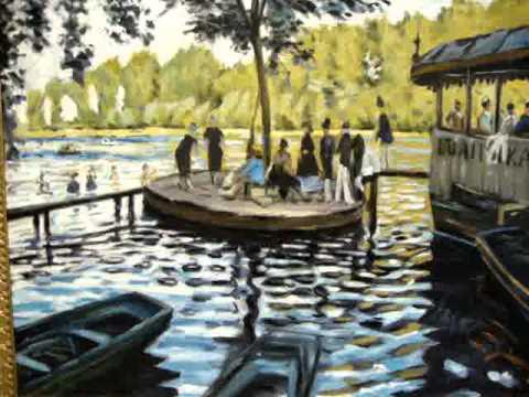 Monet la grenouill re falsi d 39 autore paintings for La grenouillere
