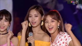 KMF2018 | Wanna one fall in love with Twice?