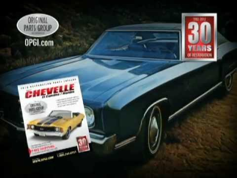 opgi chevelle el camino and monte carlo restoration and performance parts youtube. Black Bedroom Furniture Sets. Home Design Ideas