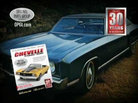 OPGI Chevelle, El Camino and Monte Carlo Restoration and Performance Parts