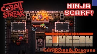 Gungeon Unlocks #07 - Ninja Scarf! - Cobalt Streak