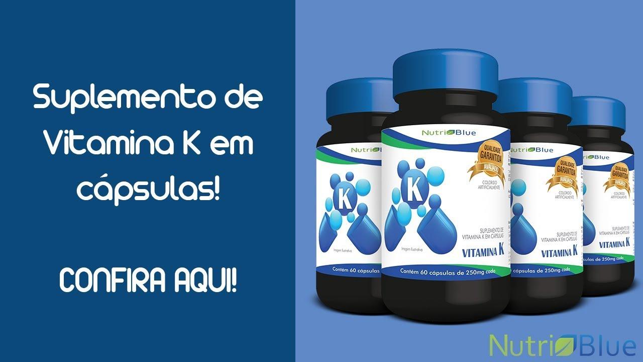 aff03e935 Vitamina k2 MK-7 Nutriblue - Suplementação De Menaquinona - YouTube