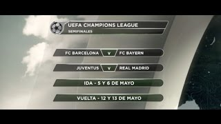 Champions draw: Bayern Munich - Barcelona | Real Madrid - Juventus