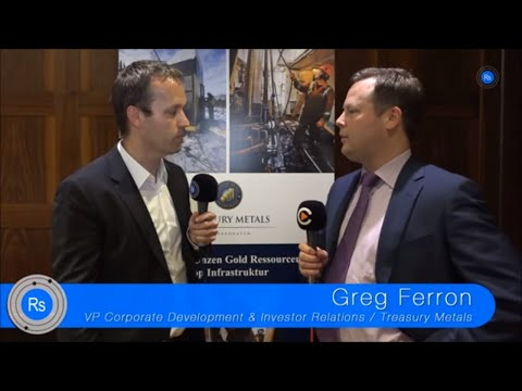 SmallCap-Investor Interview mit Greg Ferron von Treasury Metals (WKN A0Q8DW)