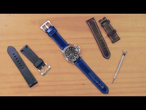 Making a Panerai Watch Strap from Shinki Shell Cordovan Leather