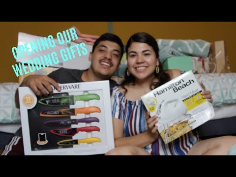Opening Our Wedding Gifts!