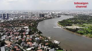 Flycam toàn cảnh vị trí dự án Q2 Thảo Điền | Tiến độ dự án tháng 01-2020