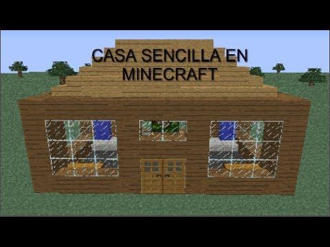 Minecraft como hacer casa sencilla y funcional youtube - Casa facil picassent ...